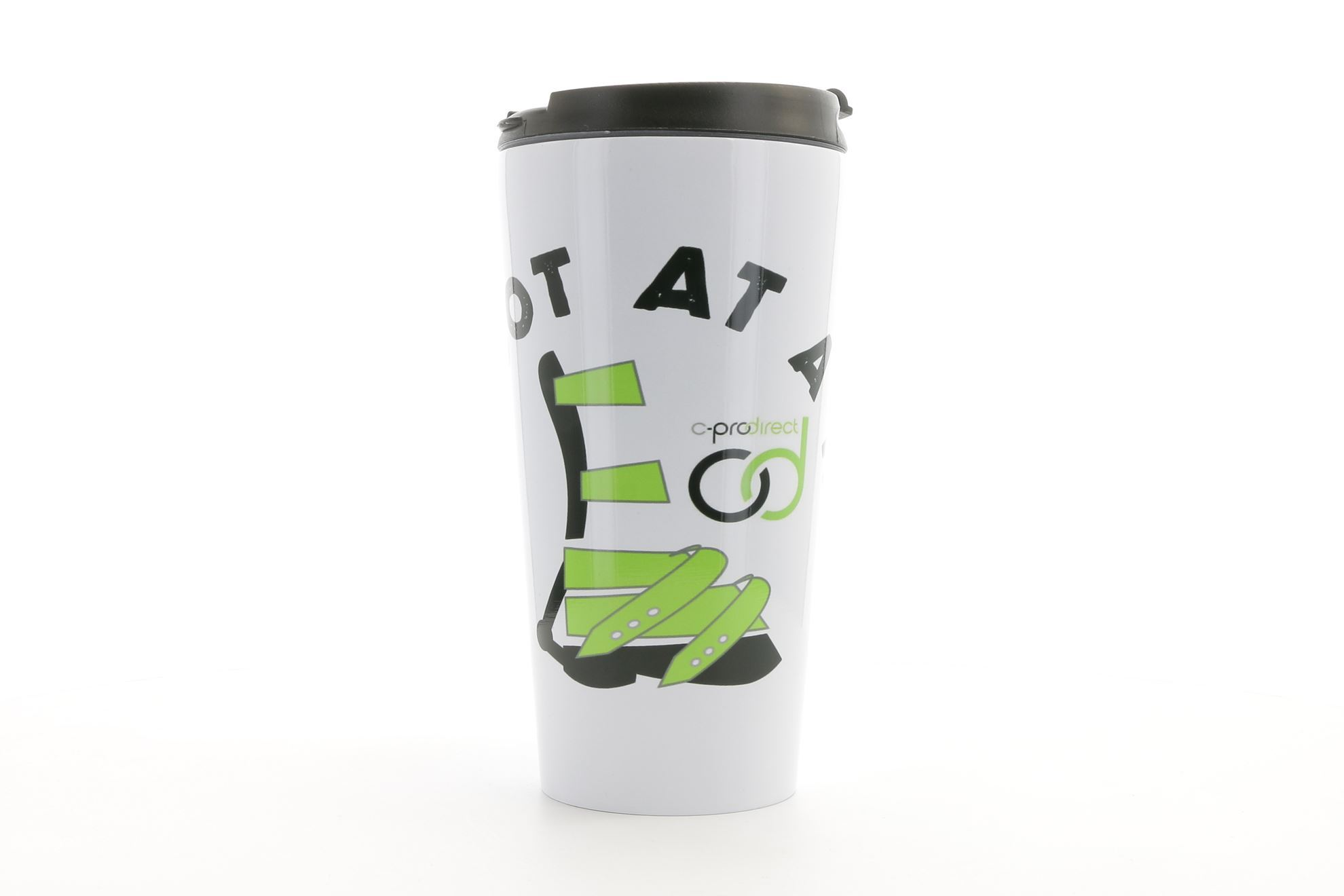 One Foot at a Time ADM Stainless Steel Travel Mug